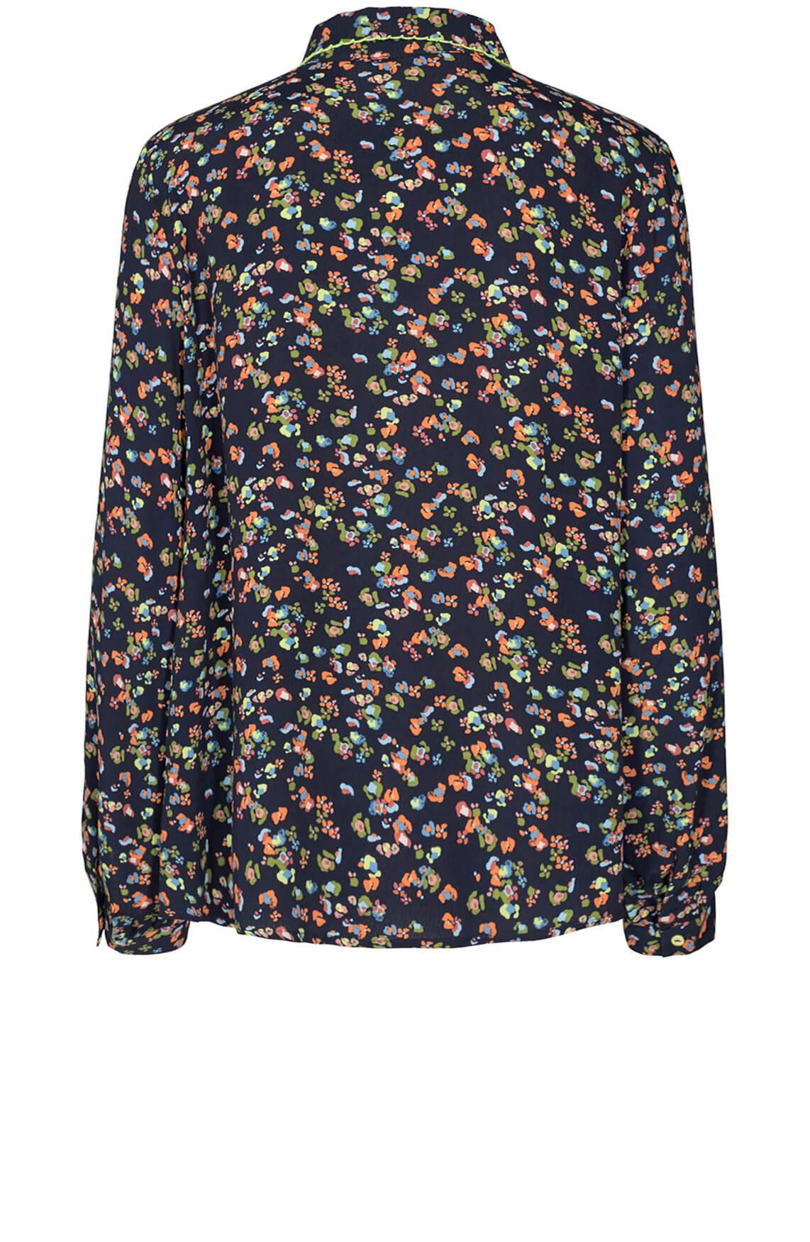 Numph Dames Dacey blouse Blauw