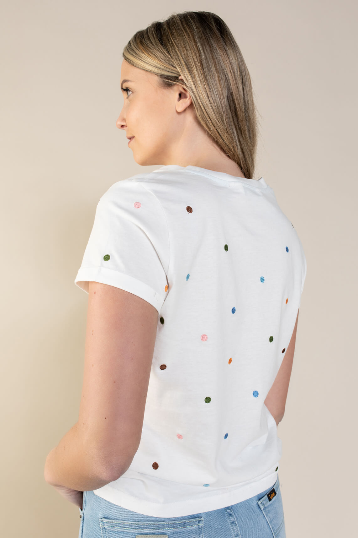 Nümph Dames Brennan shirt Wit