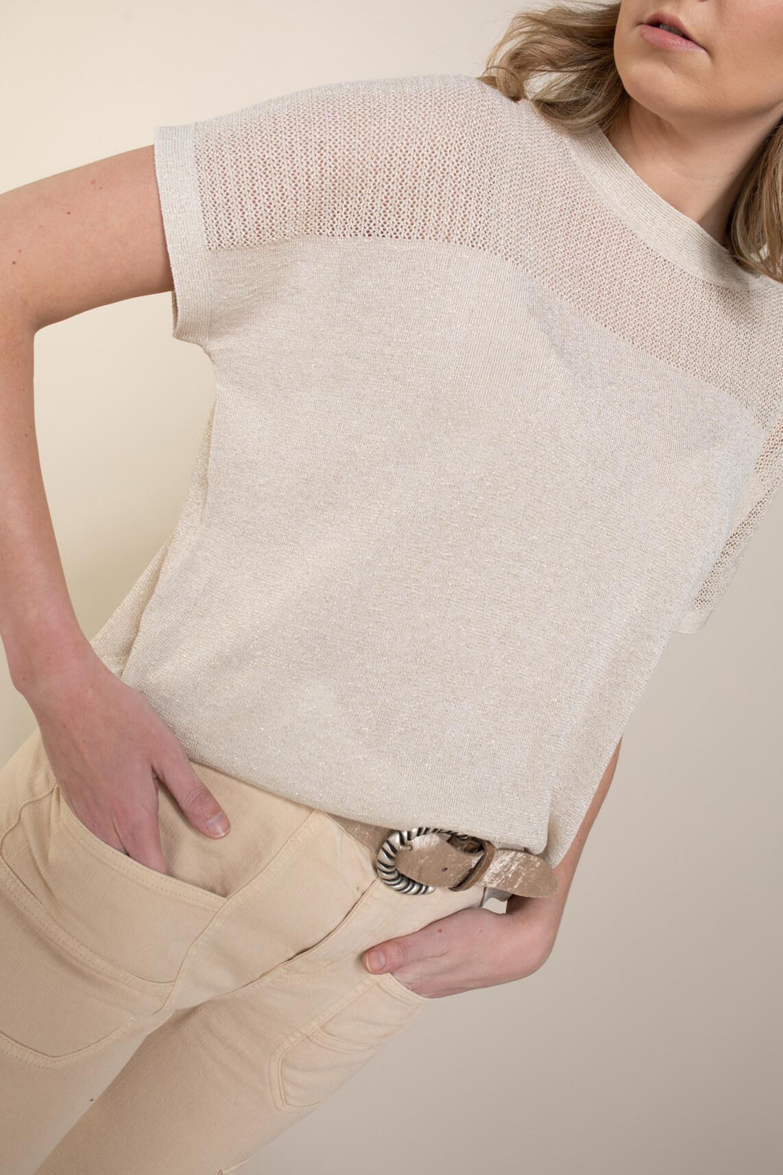 Nümph Dames Darlene shirt Ecru