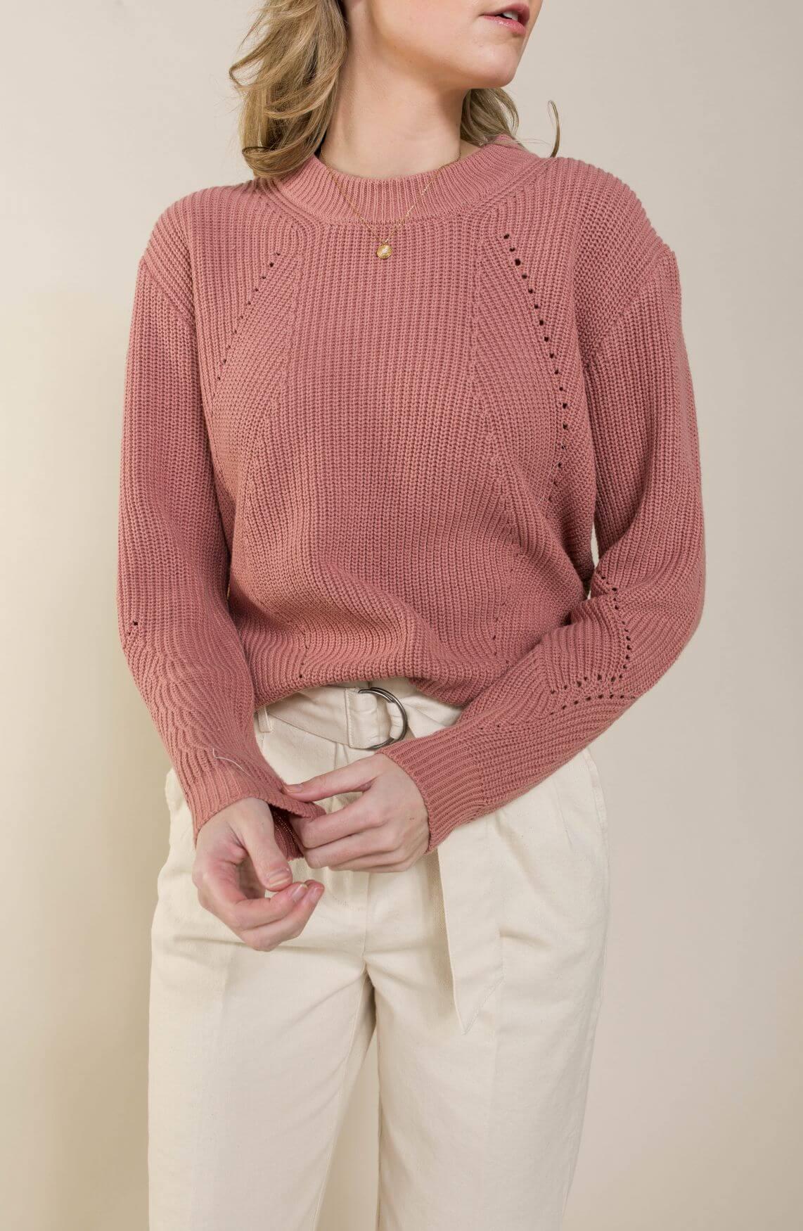 Nümph Dames Nucia pullover Roze