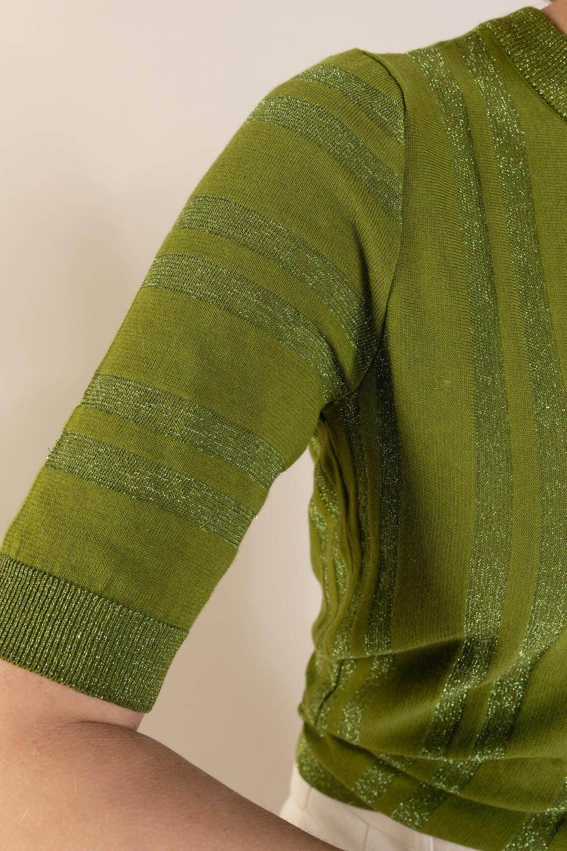 Nümph Dames Dagan pullover Groen