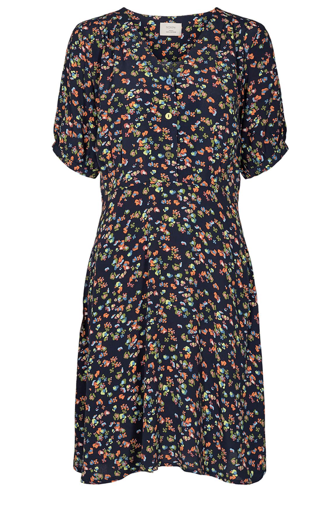 Nümph Dames Dacey jurk Blauw