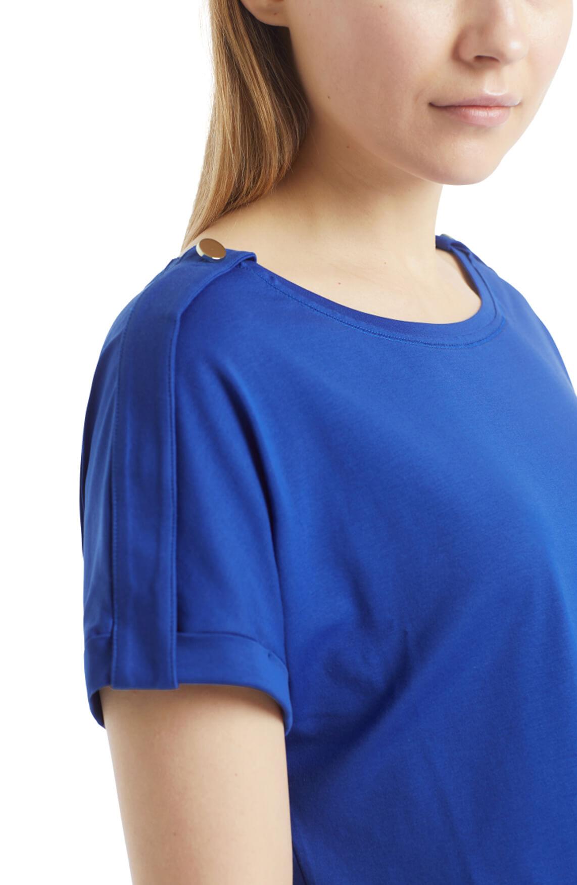Marccain Dames Shirt met knoop Blauw