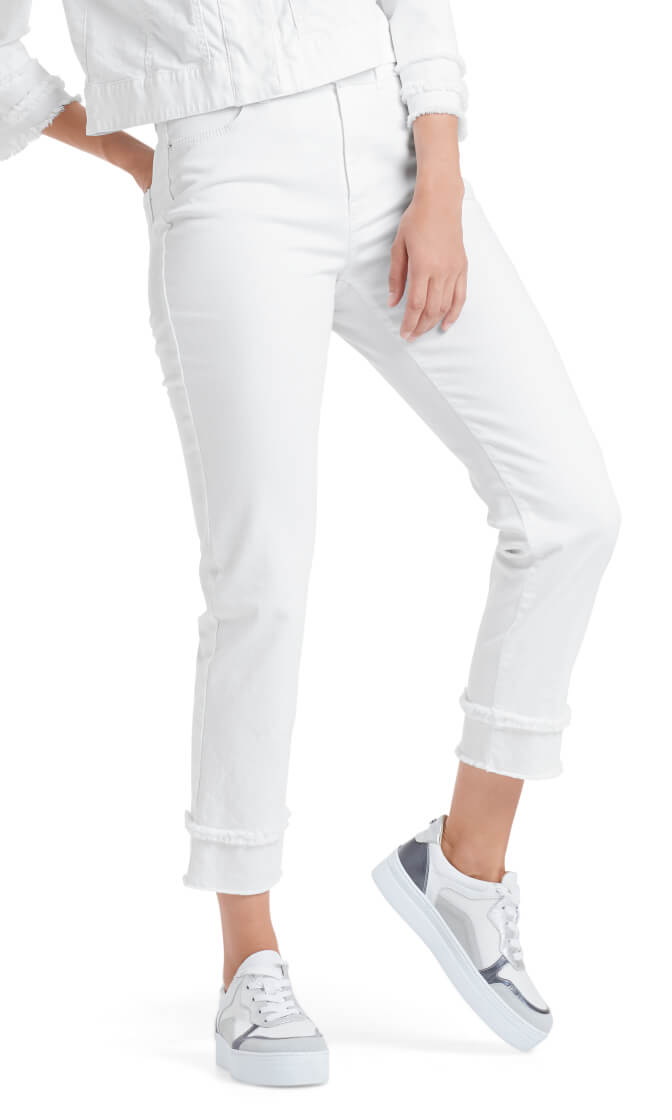 Marccain Dames Jeans Wit