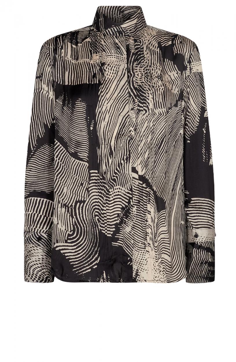 Copenhagen Muse Dames Blossum blouse Zwart