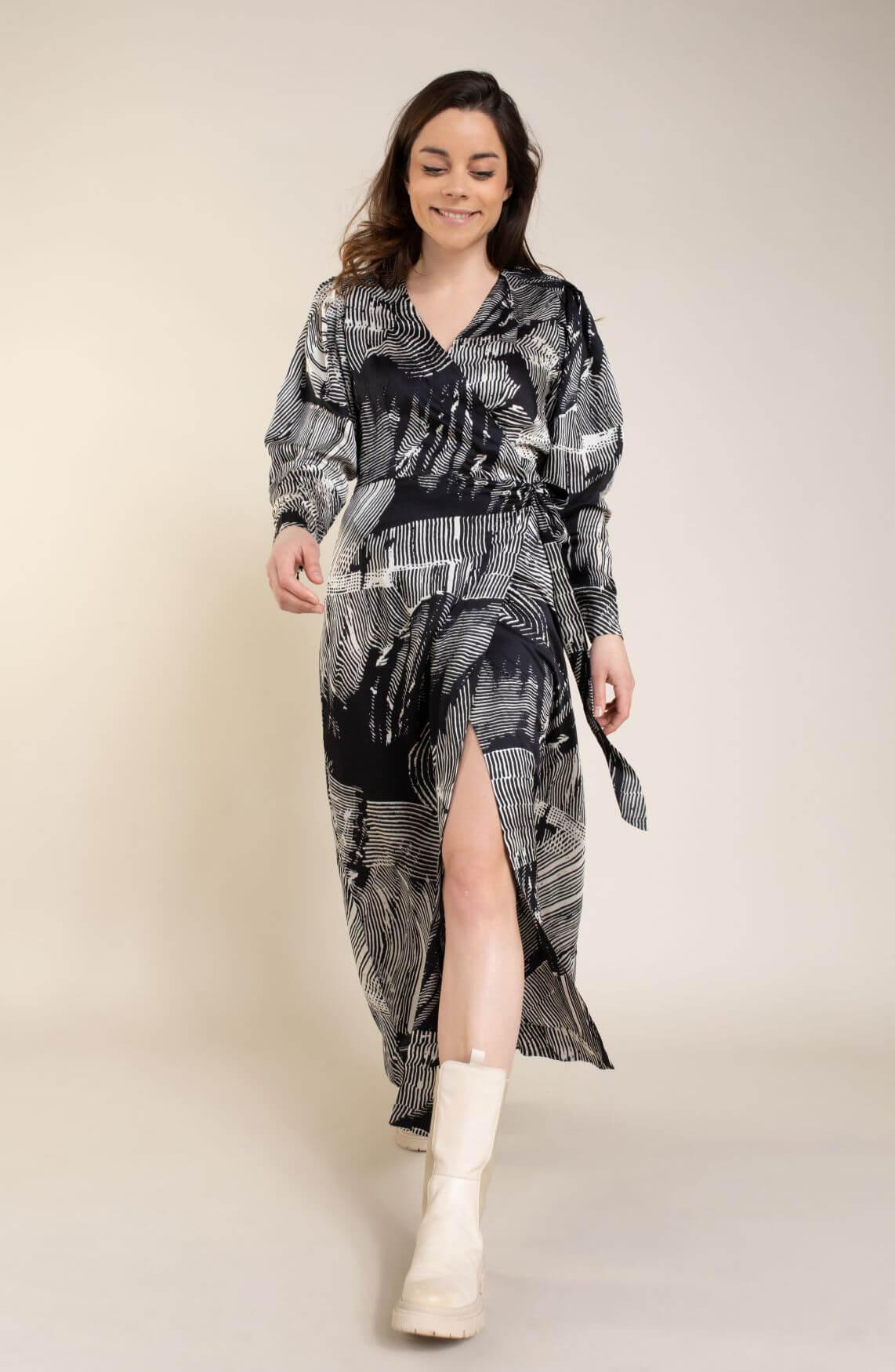 Copenhagen Muse Dames Blossum jurk Zwart