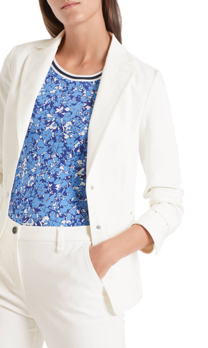 Marccain Sports Dames Blazer Wit