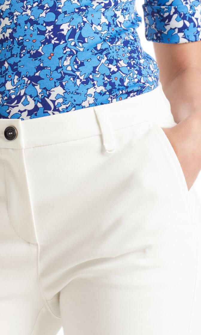 Marccain Sports Dames Pantalon Ecru
