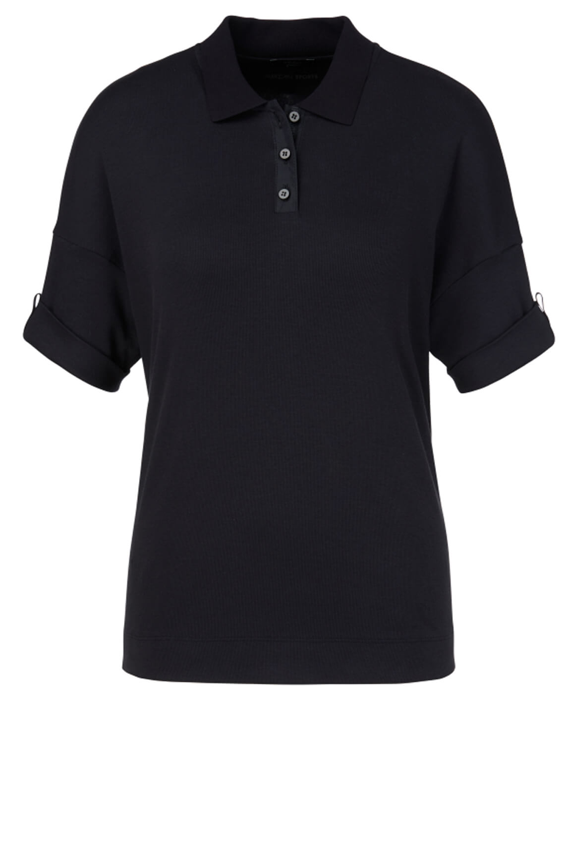 Marccain Sports Dames Poloshirt Blauw