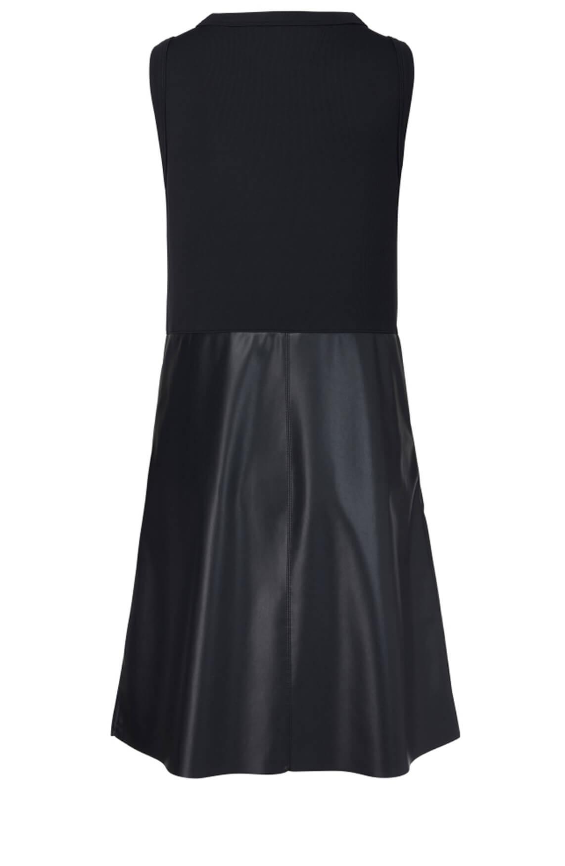 Marccain Sports Dames Imitatie nappa jurk Blauw