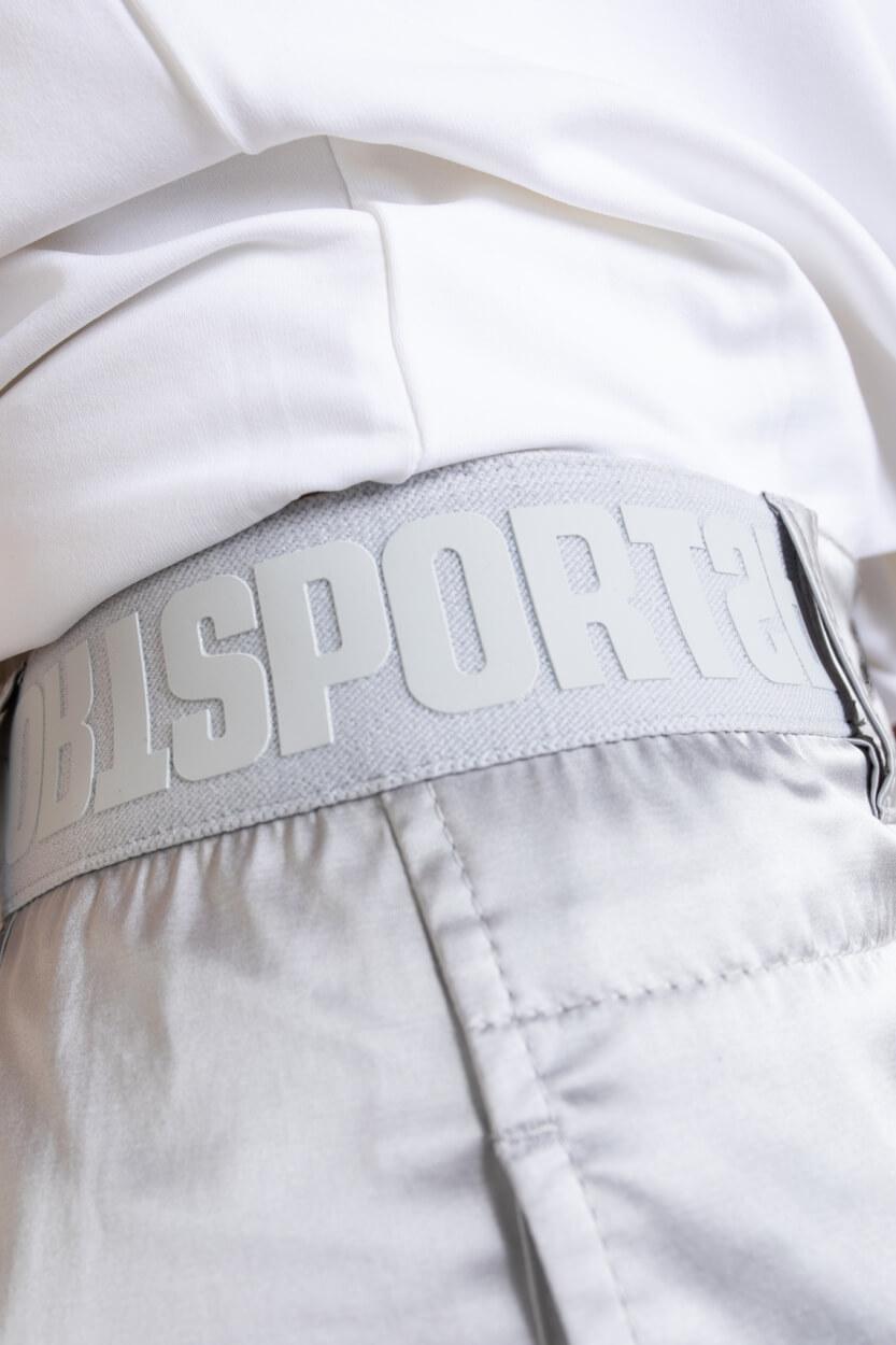 Marccain Sports Dames Metallic broek Wit