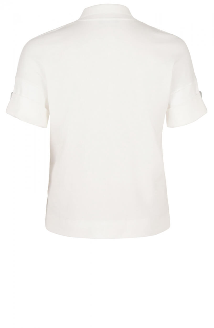 Marccain Sports Dames Polo shirt Wit