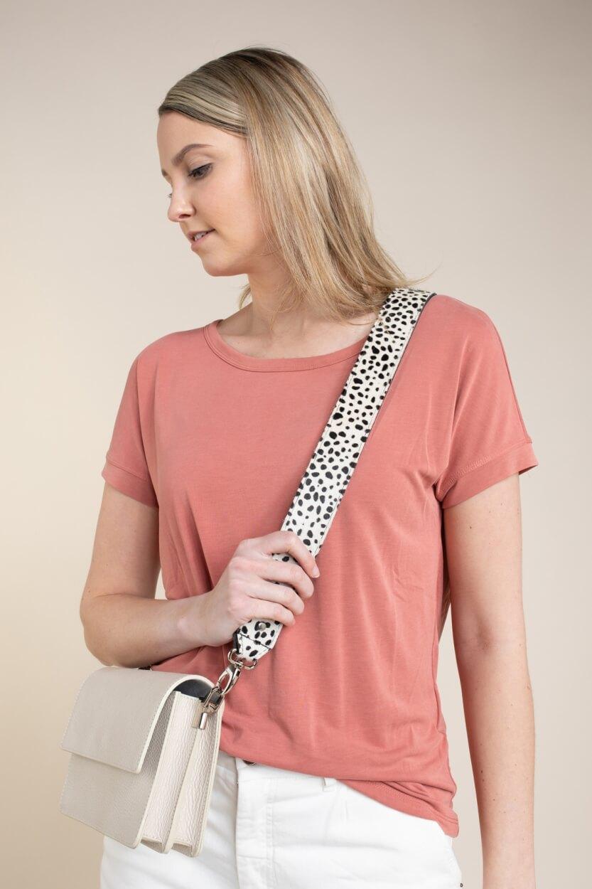 Moss Copenhagen Dames Fenya shirt Roze