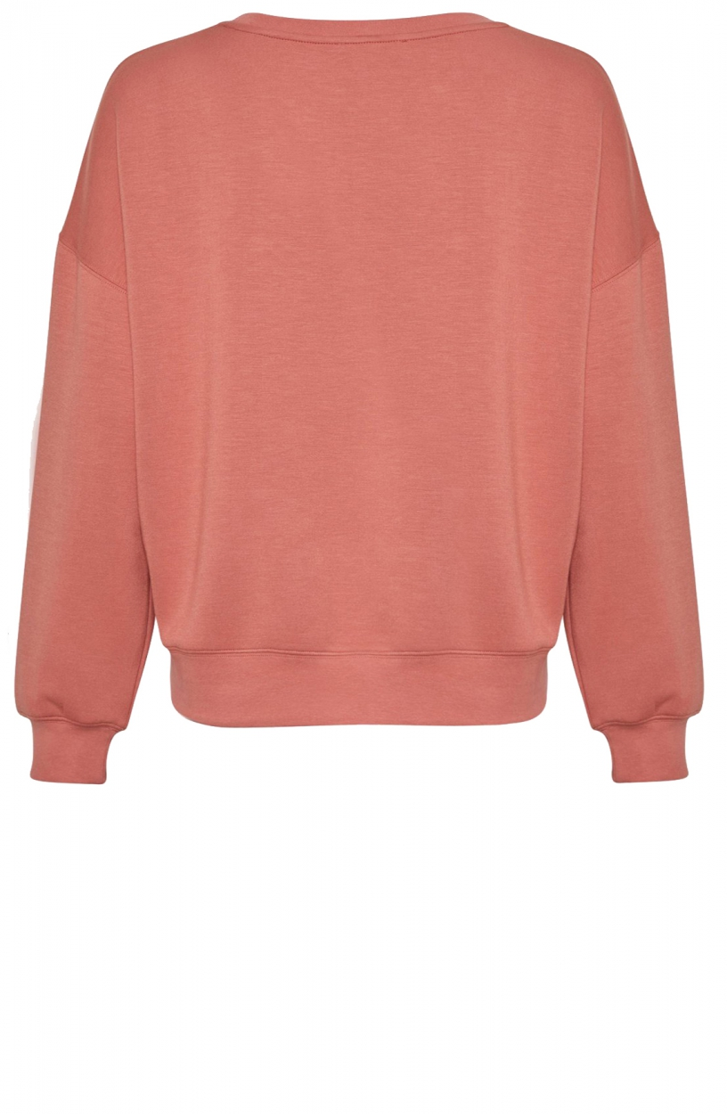 Moss Copenhagen Dames Ima sweatshirt Roze