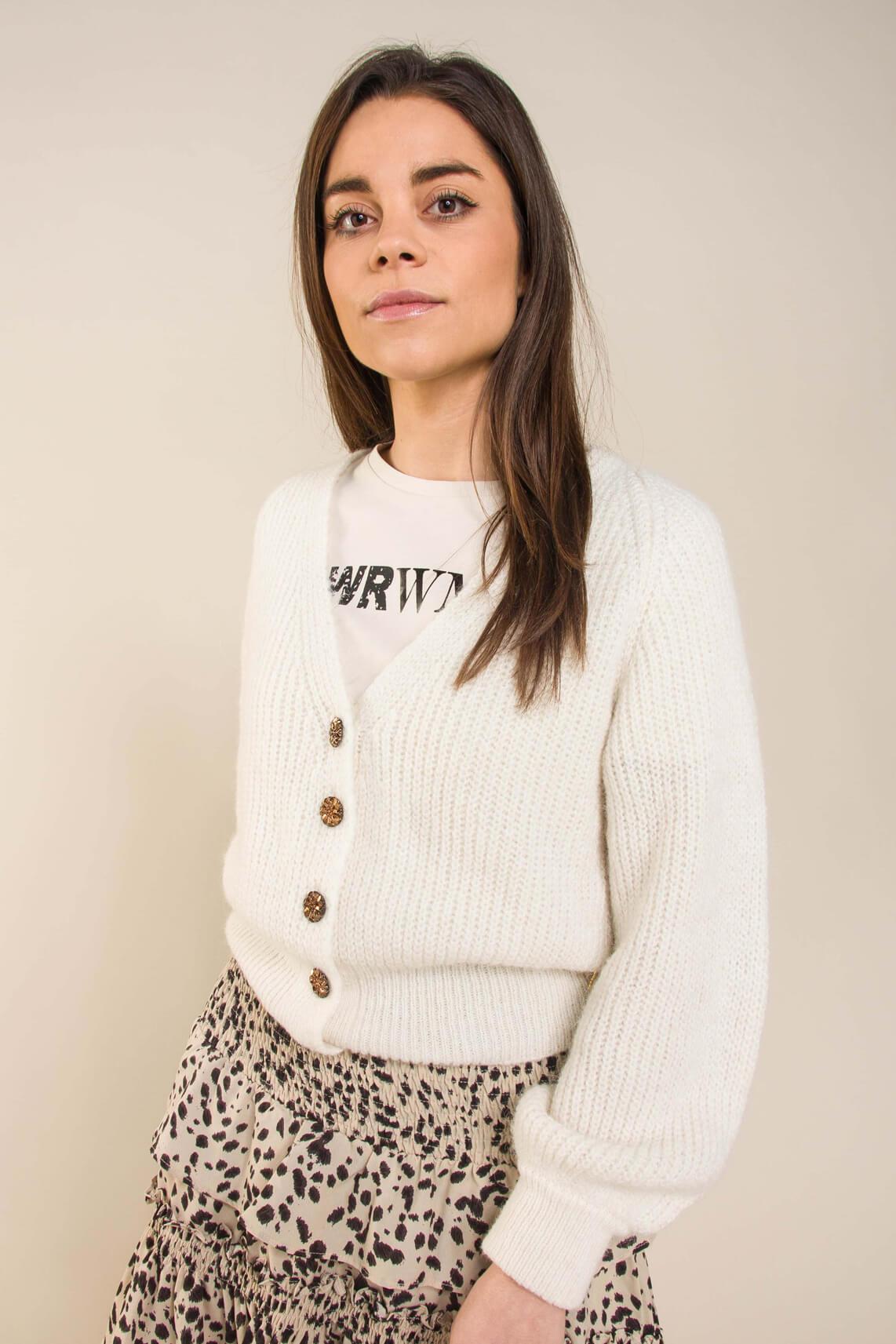 Fabienne Chapot Dames Starry cardigan Wit