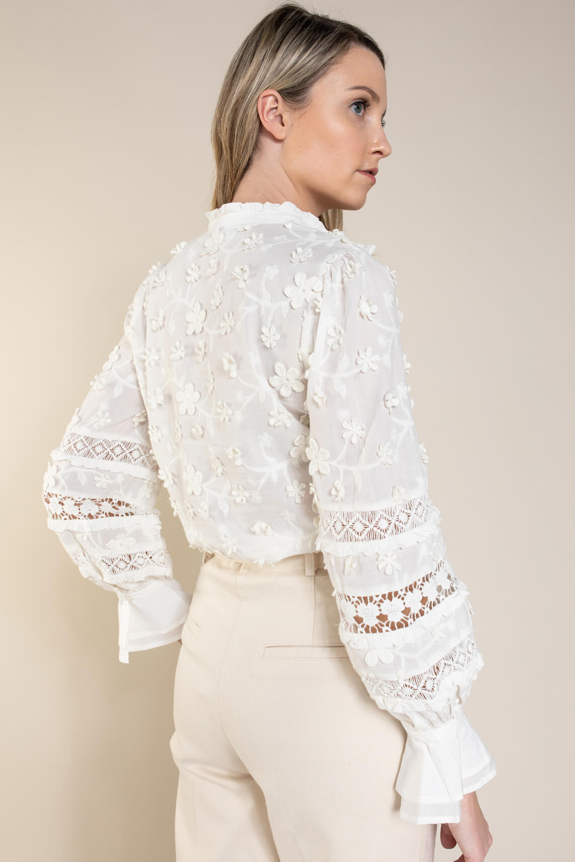 Fabienne Chapot Dames Leo blouse Wit