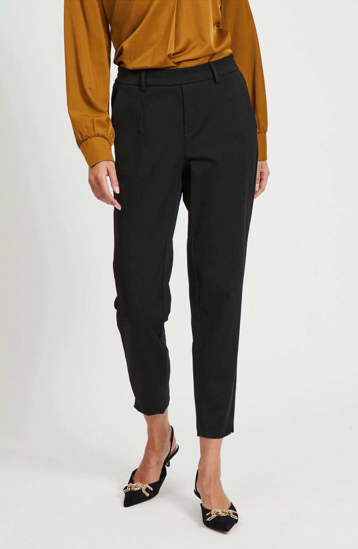 Object Dames Lisa pantalon Zwart