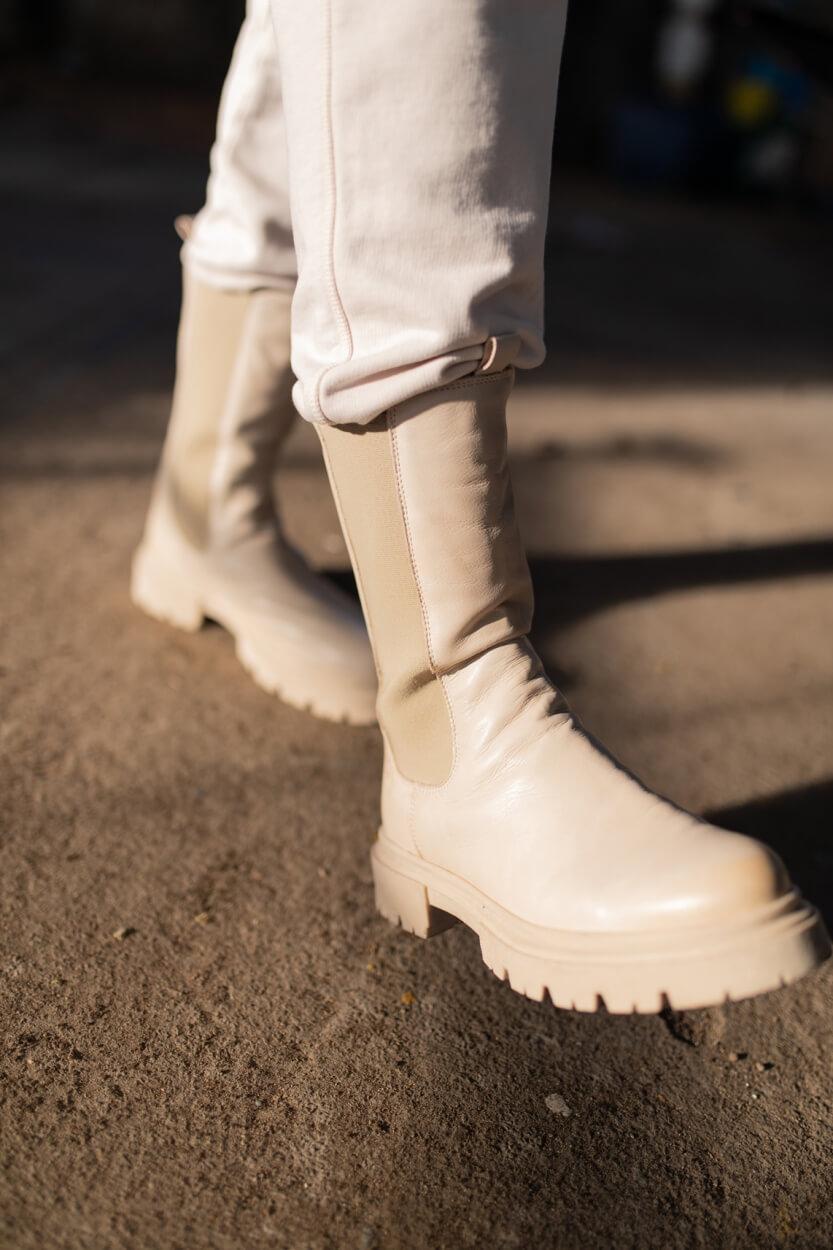 Postxchange Dames Zarina boot Grijs