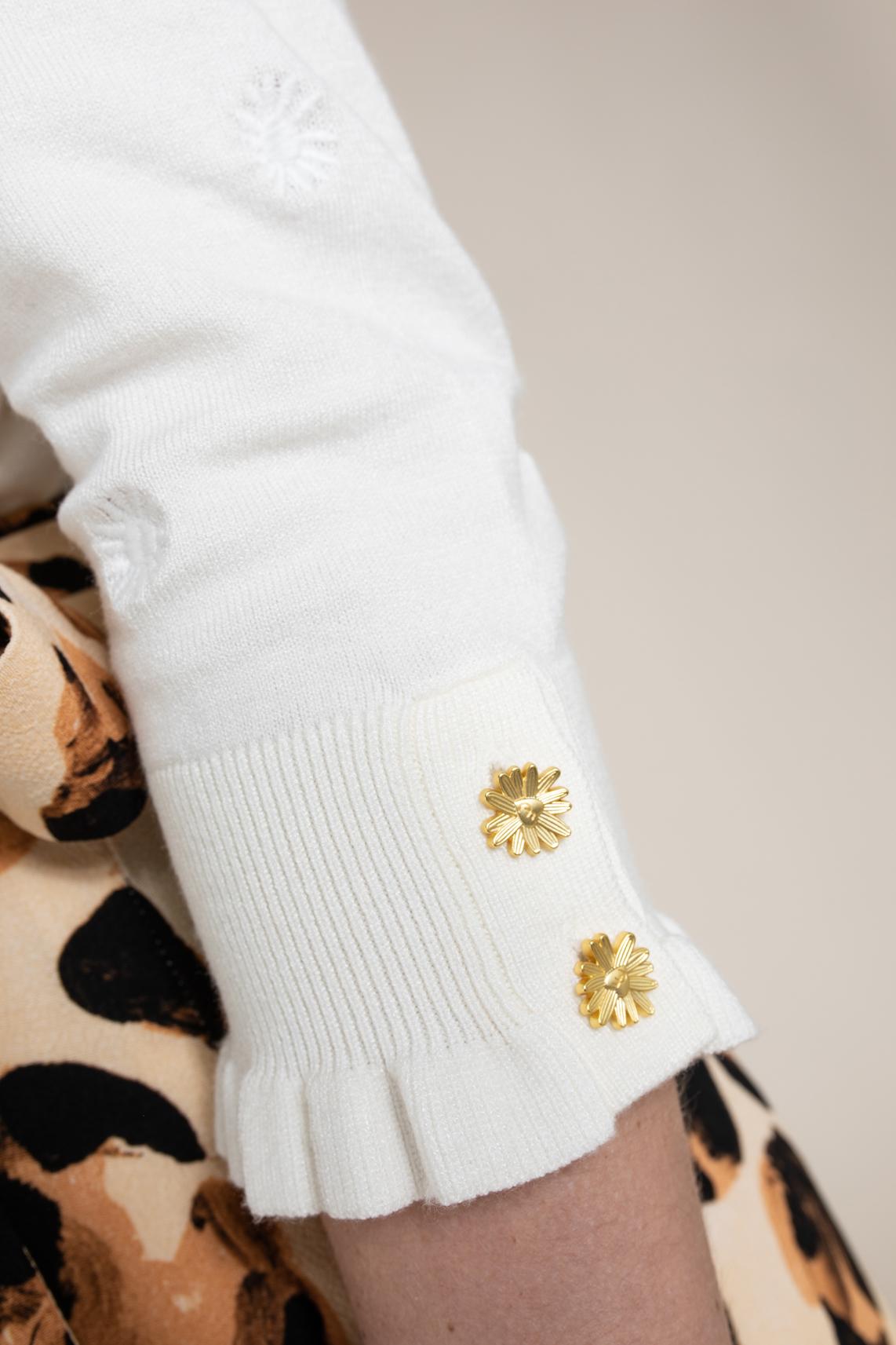Fabienne Chapot Dames Leo pullover Wit