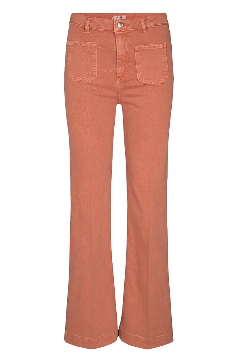 Co Couture Dames Luella flared jeans Roze