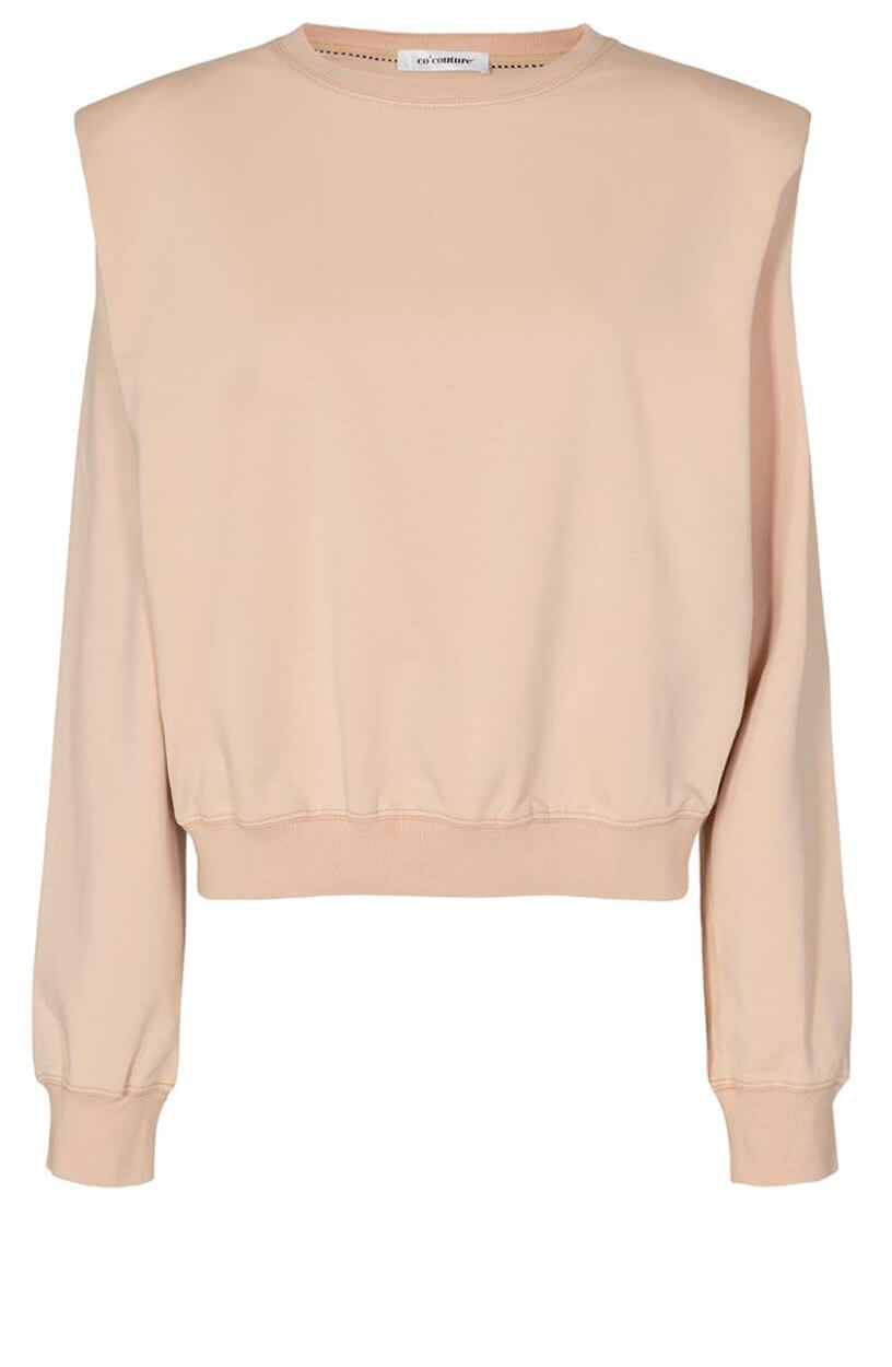 Co Couture Dames Sean sweater Wit