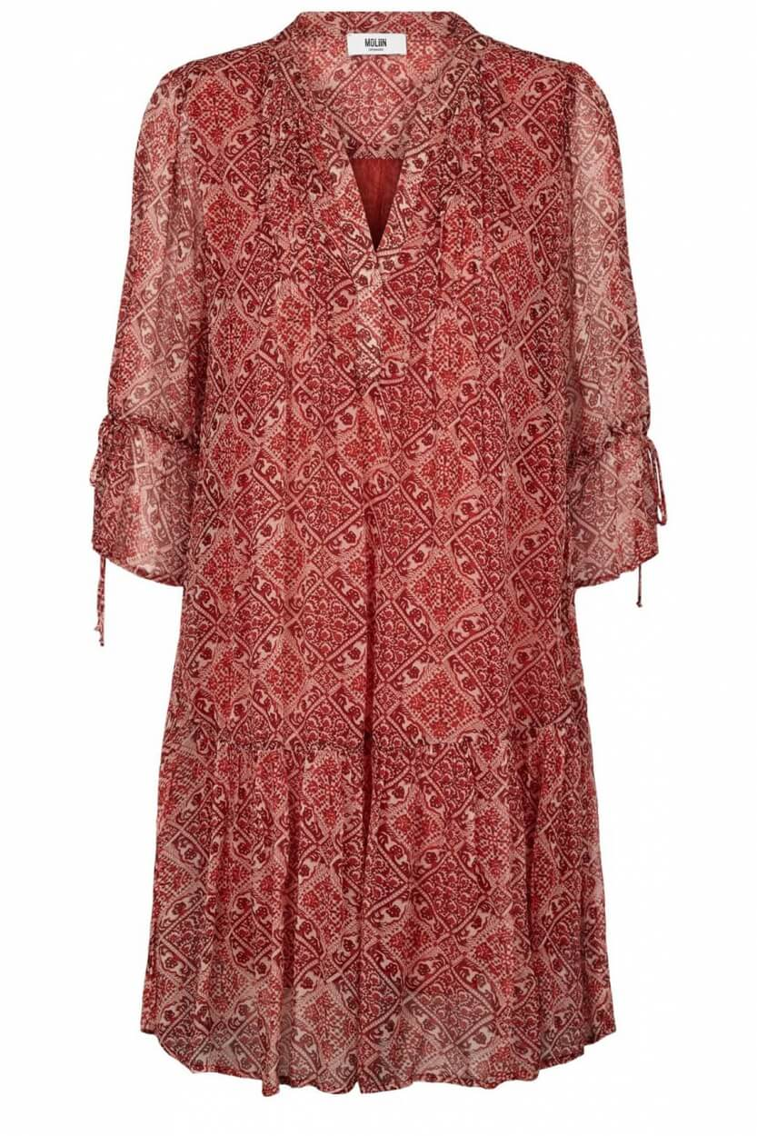 Moliin Copenhagen Dames Kyla jurk Rood
