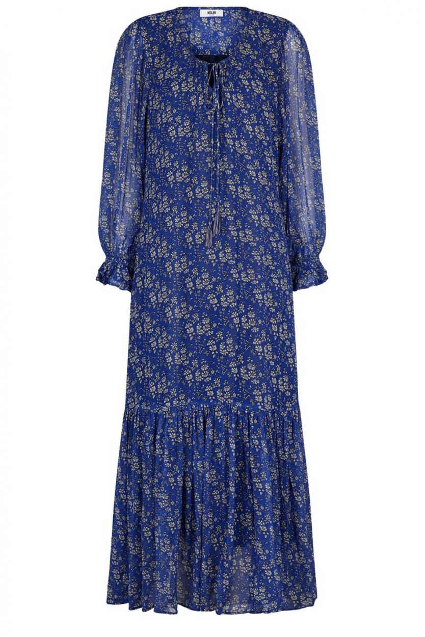 Moliin Copenhagen Dames Asuri jurk Blauw