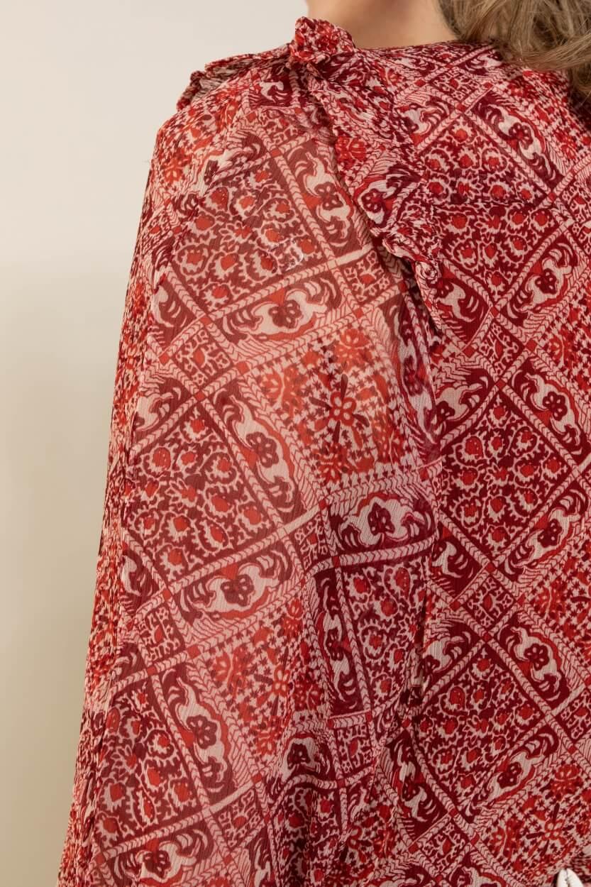 Moliin Copenhagen Dames Liberty jurk Rood