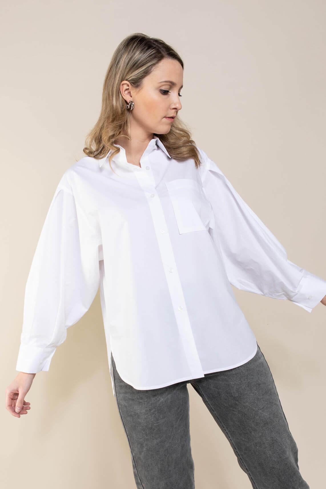 Second Female Dames Larkin blouse Wit