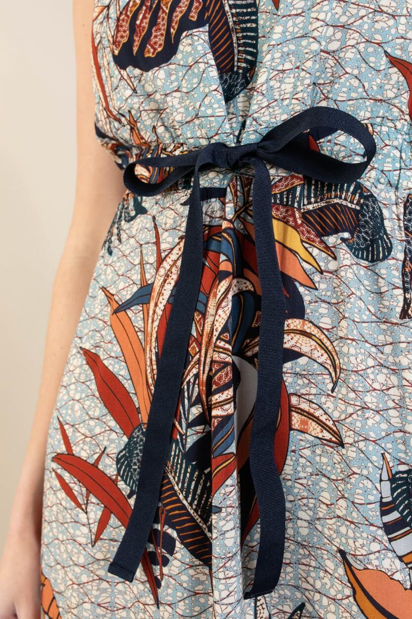 La Fee Maraboutee Dames Nabela jurk Blauw