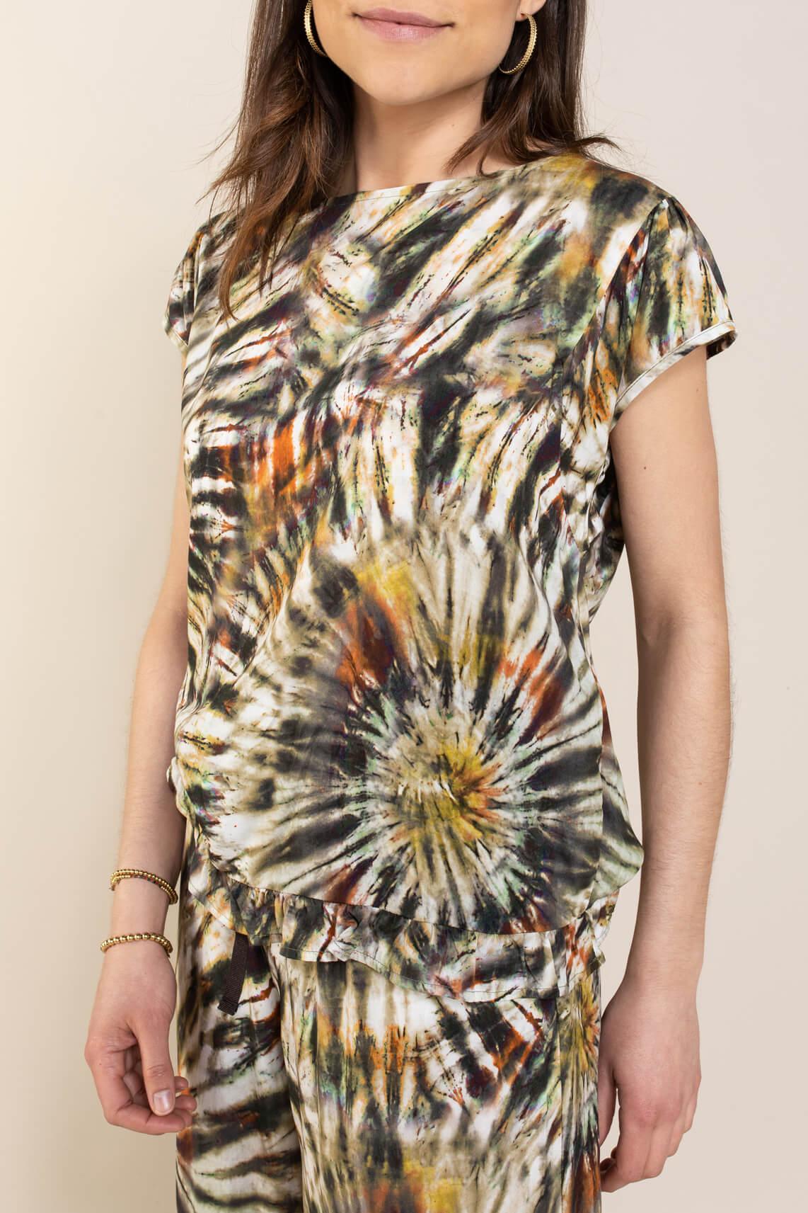 La Fee Maraboutee Dames Laiba shirt Groen