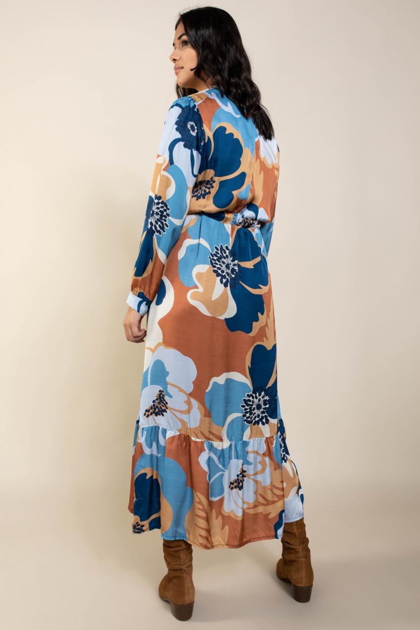 La Fee Maraboutee Dames Lola jurk Blauw
