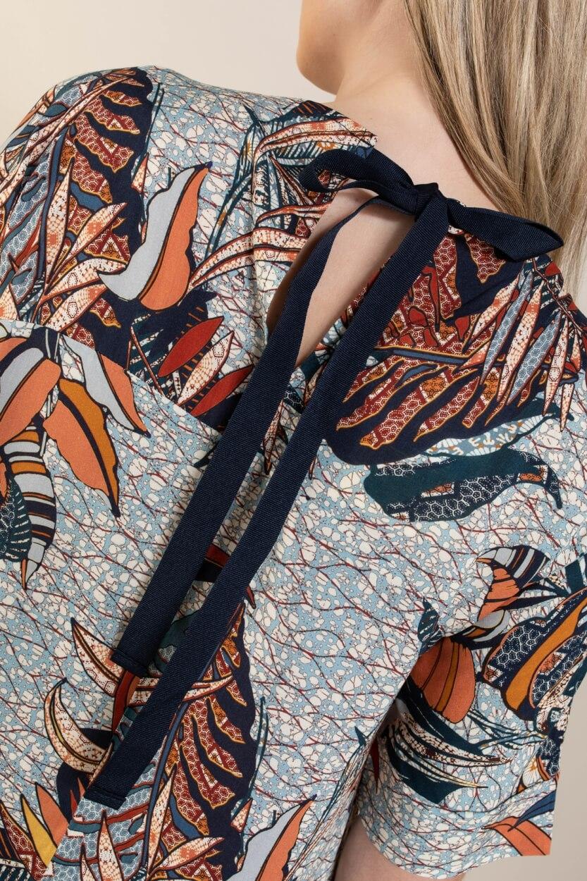 La Fee Maraboutee Dames Nabila blouse Blauw