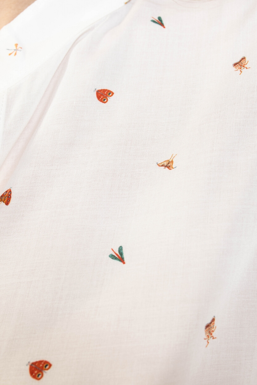 La Fee Maraboutee Dames Nadila blouse Wit