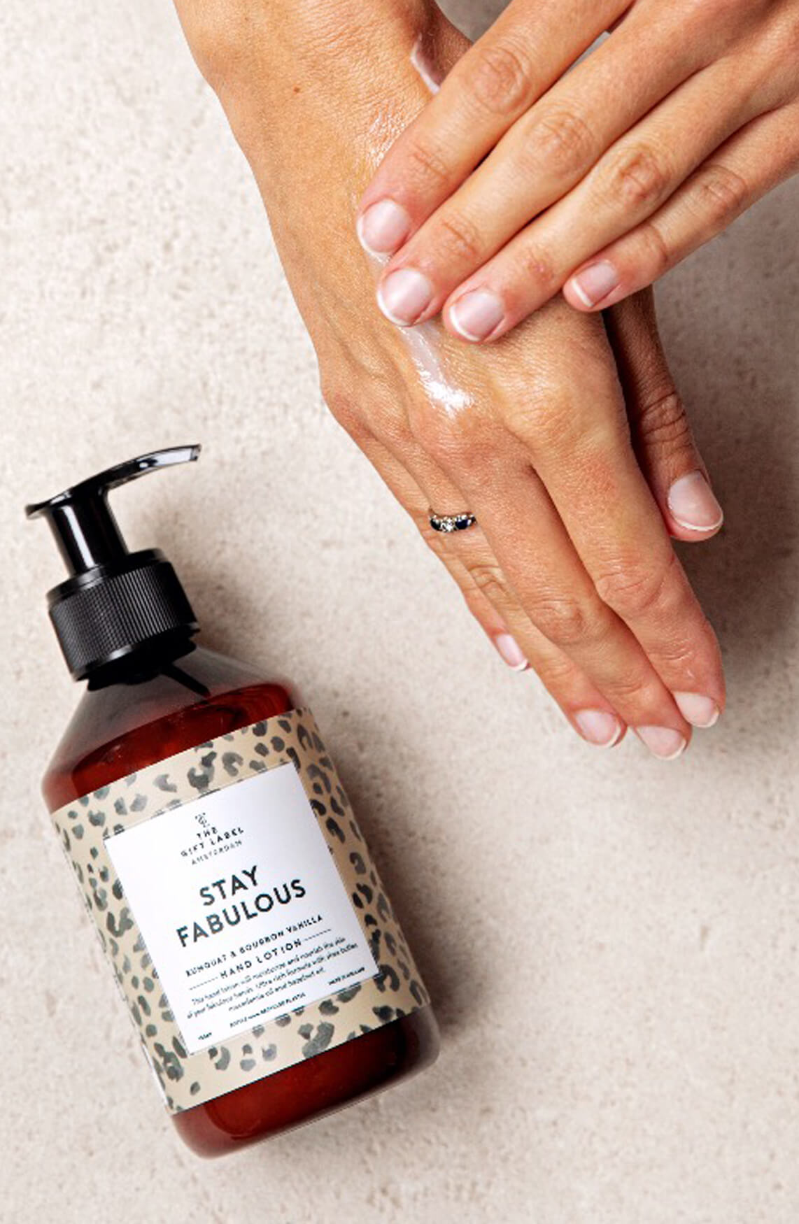 The Gift Label Dames Hand lotion Stay Fabulous Bruin