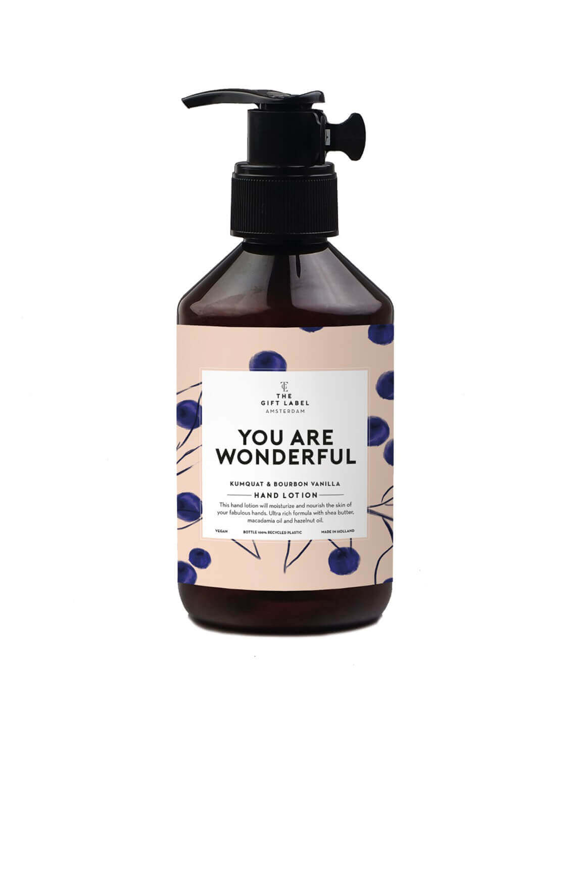 The Gift Label Dames Hand lotion You Are Wonderful Ecru