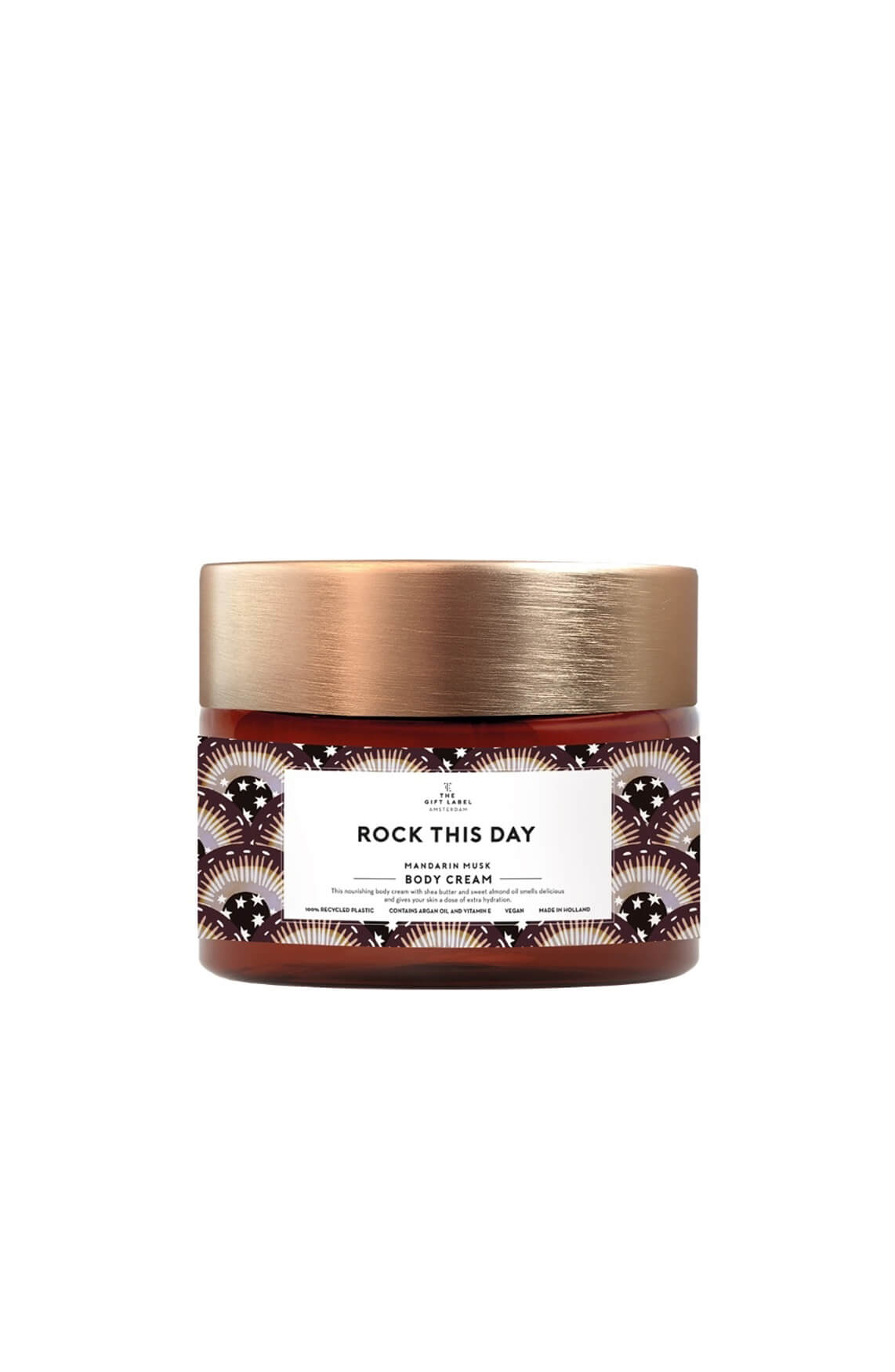 The Gift Label Dames Body cream Rock This Day Paars