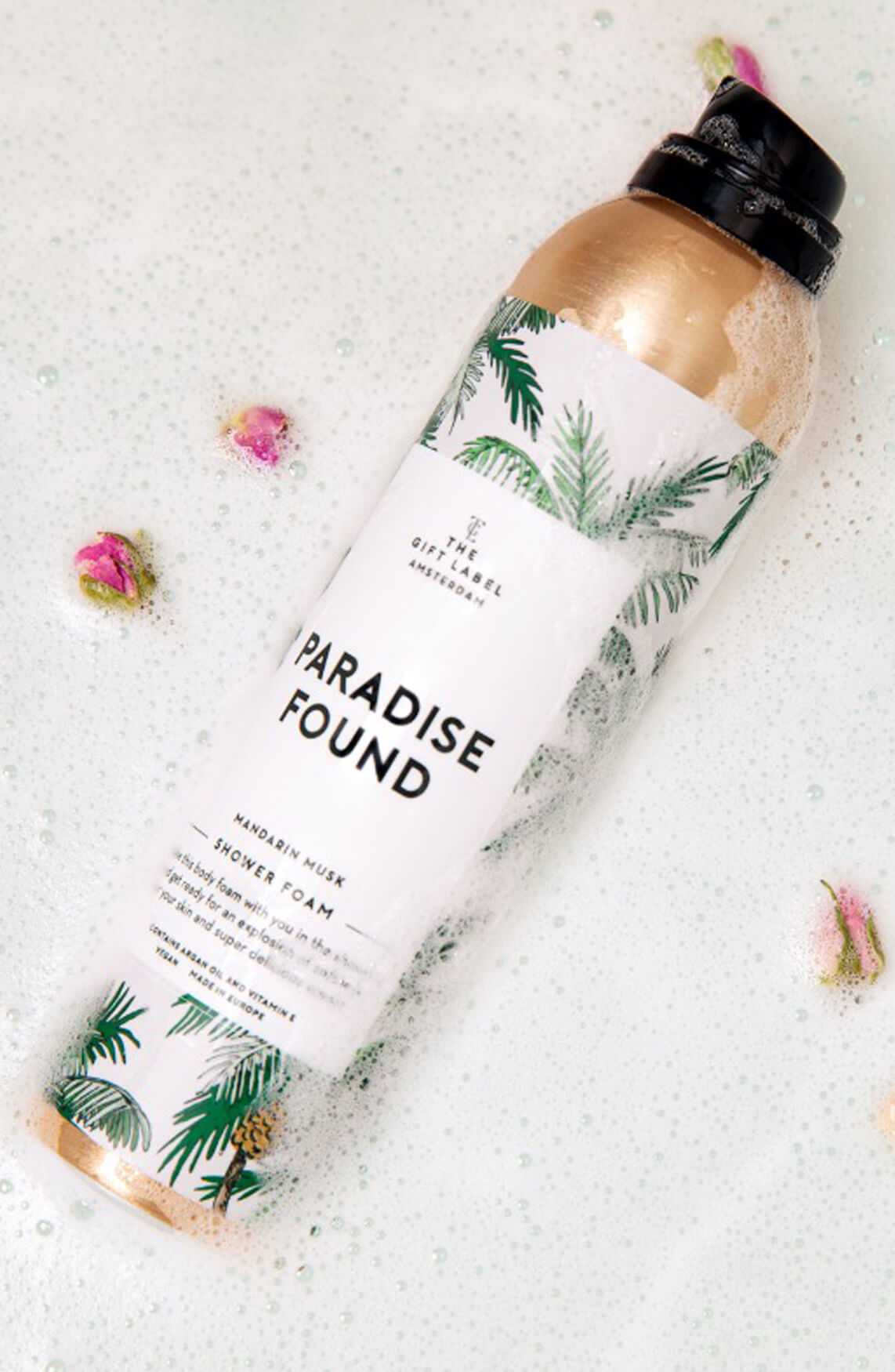 The Gift Label Dames Shower foam Paradise Found Groen