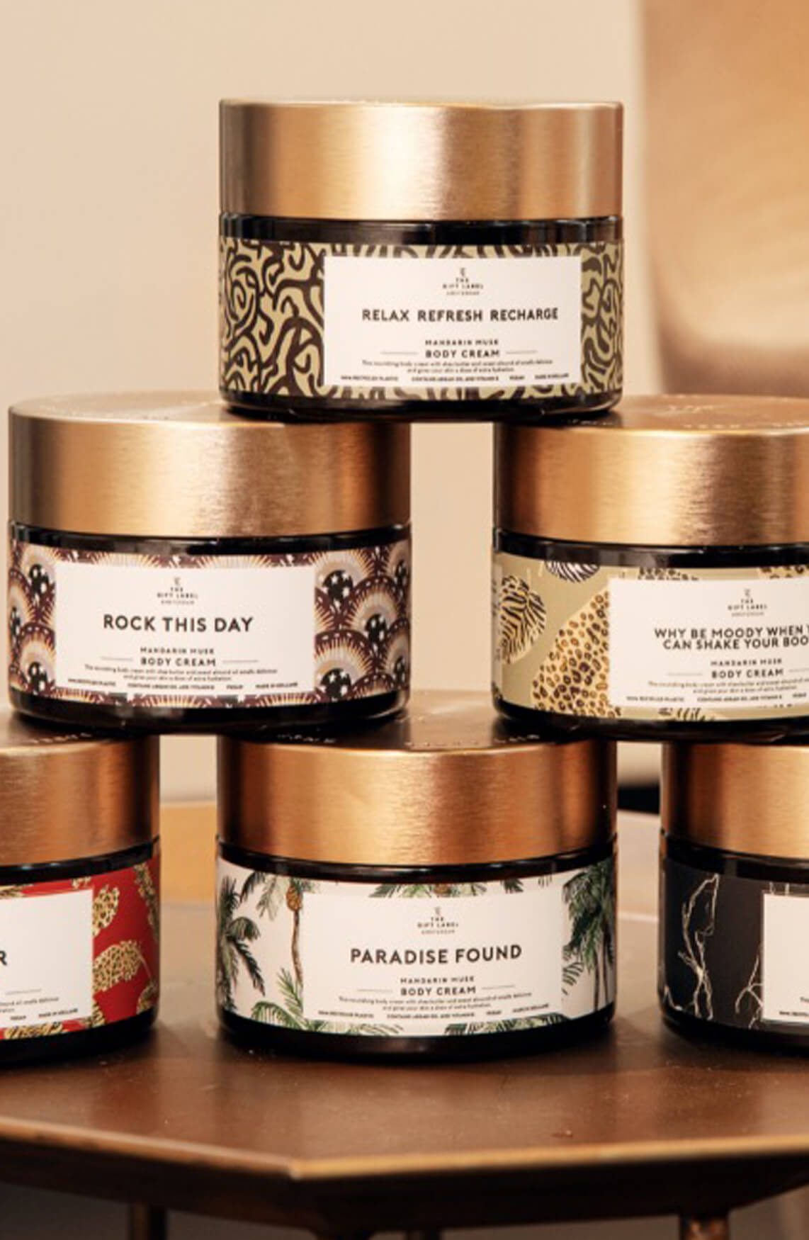 The Gift Label Dames Body cream Paradise Found Groen