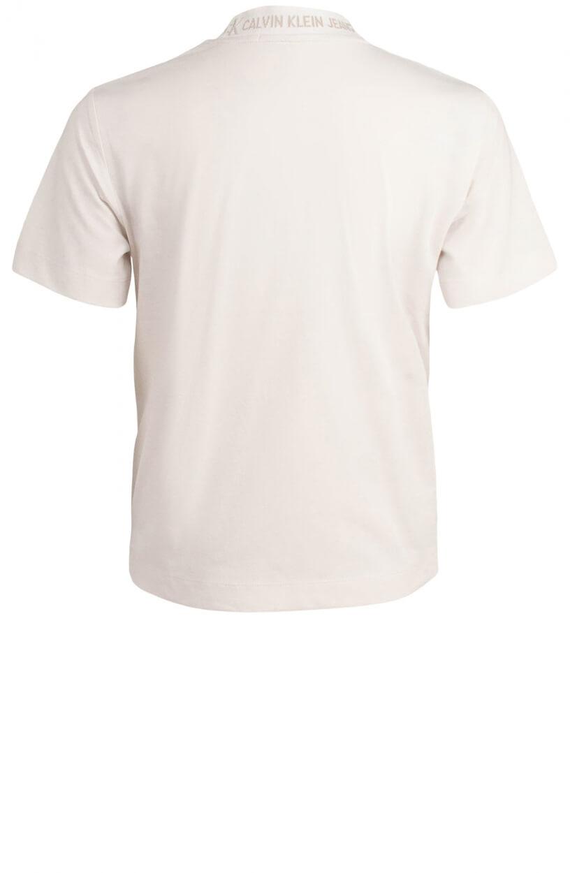 Calvin Klein Dames Logoshirt Wit