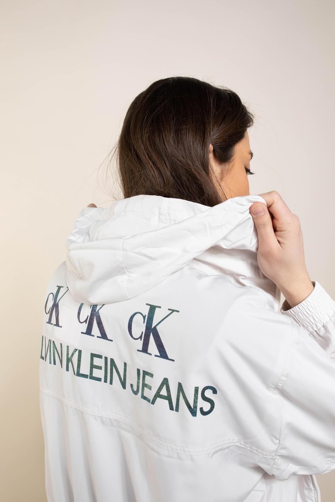 Calvin Klein Dames Jack met rits Wit