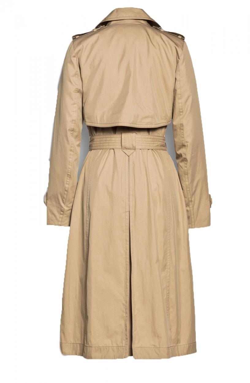 Creenstone Dames Lange trenchcoat Bruin