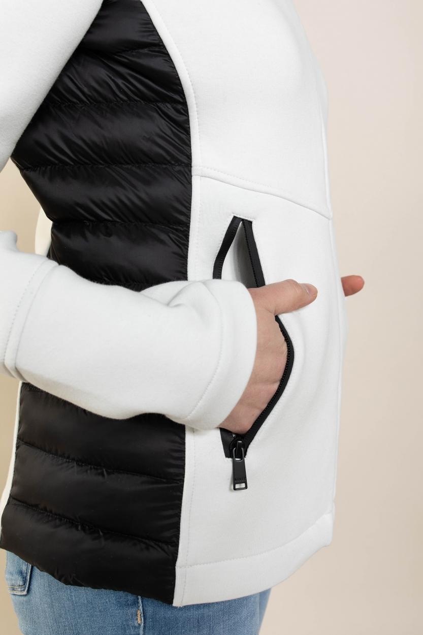 Reset Dames Nicky jas met capuchon Wit