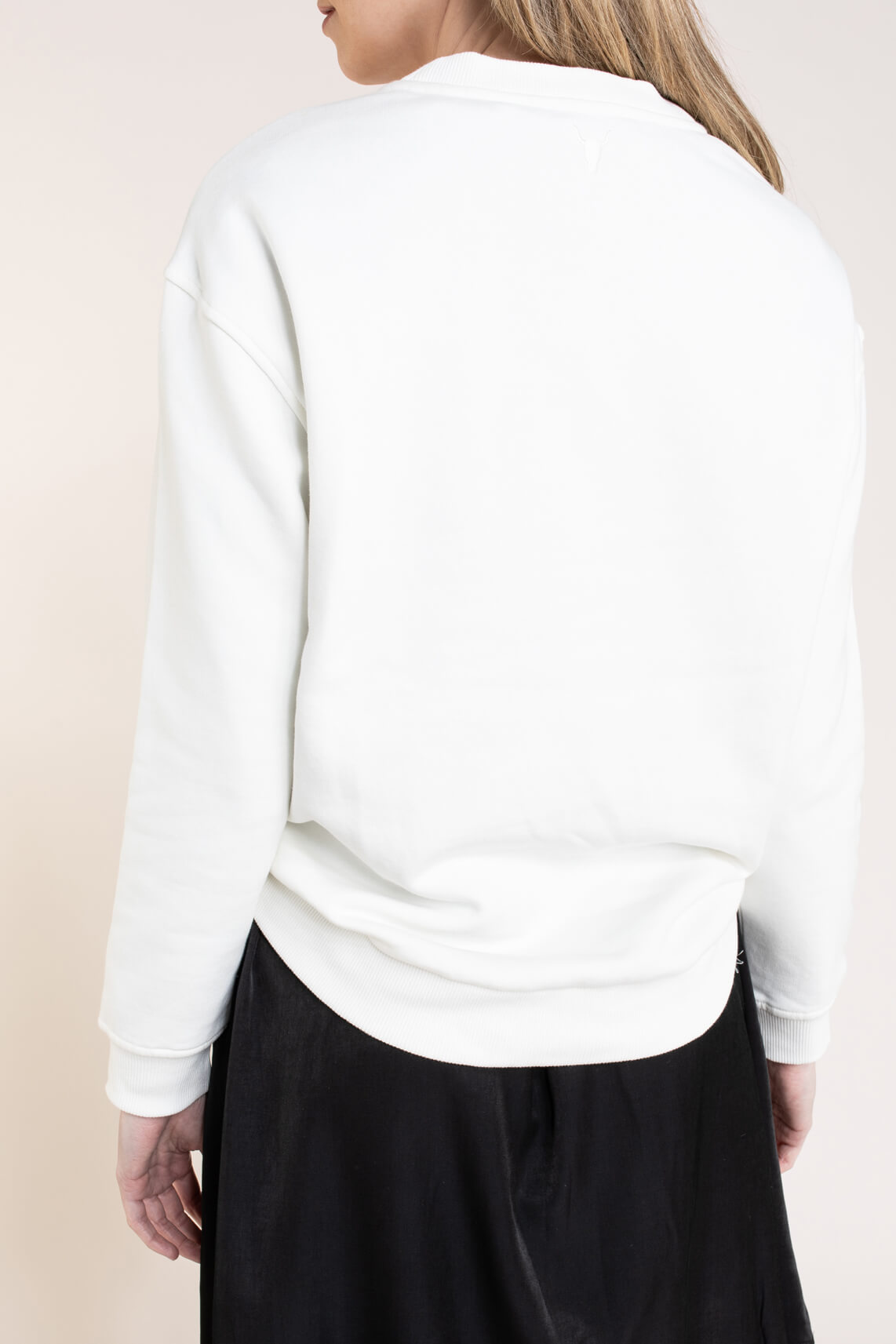 Alix The Label Dames Sketchy sweater Wit