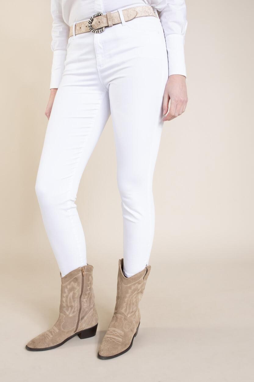 Brax Finest Dames Shakira skinny broek Wit