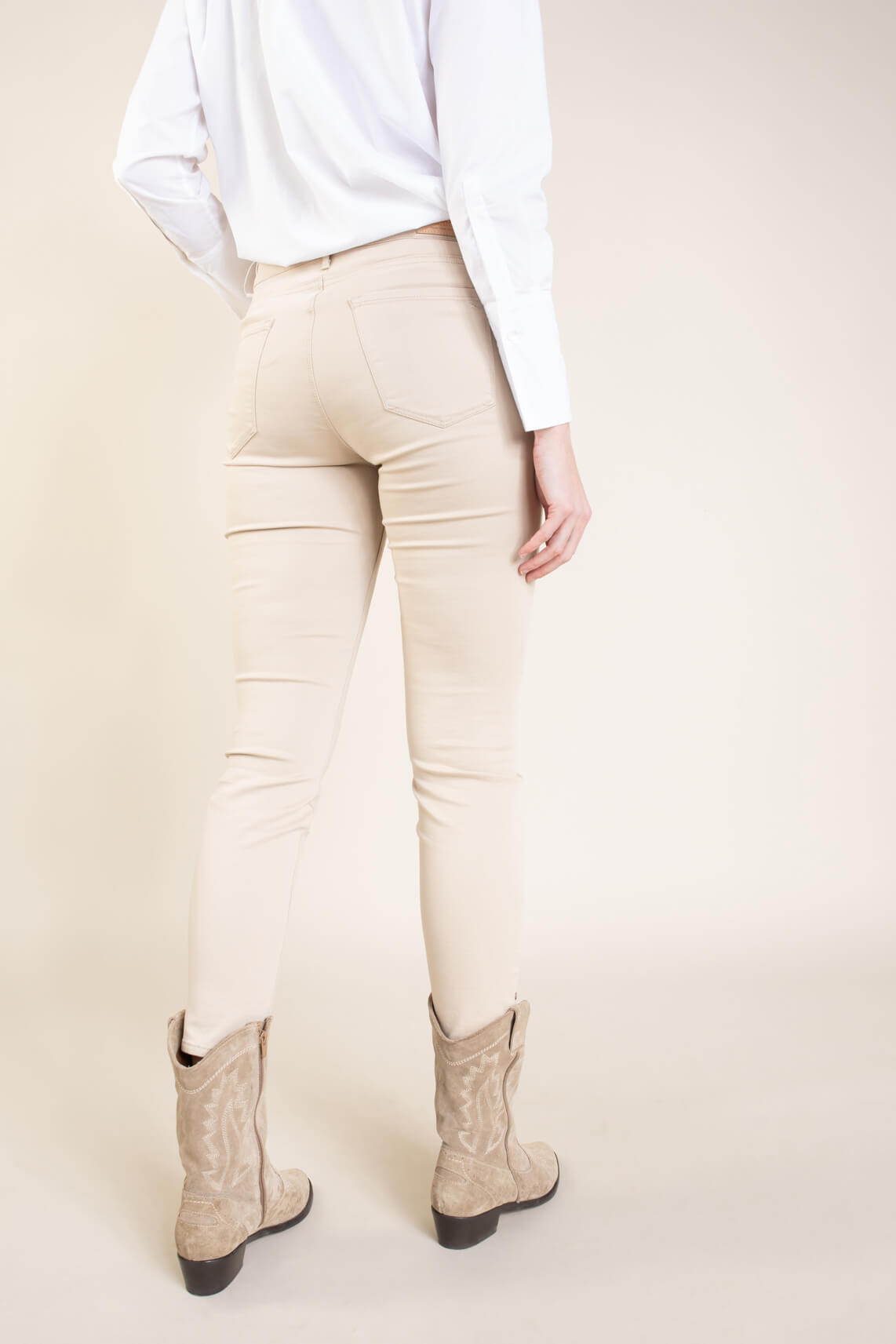 Brax Finest Dames Shakira skinny broek Bruin