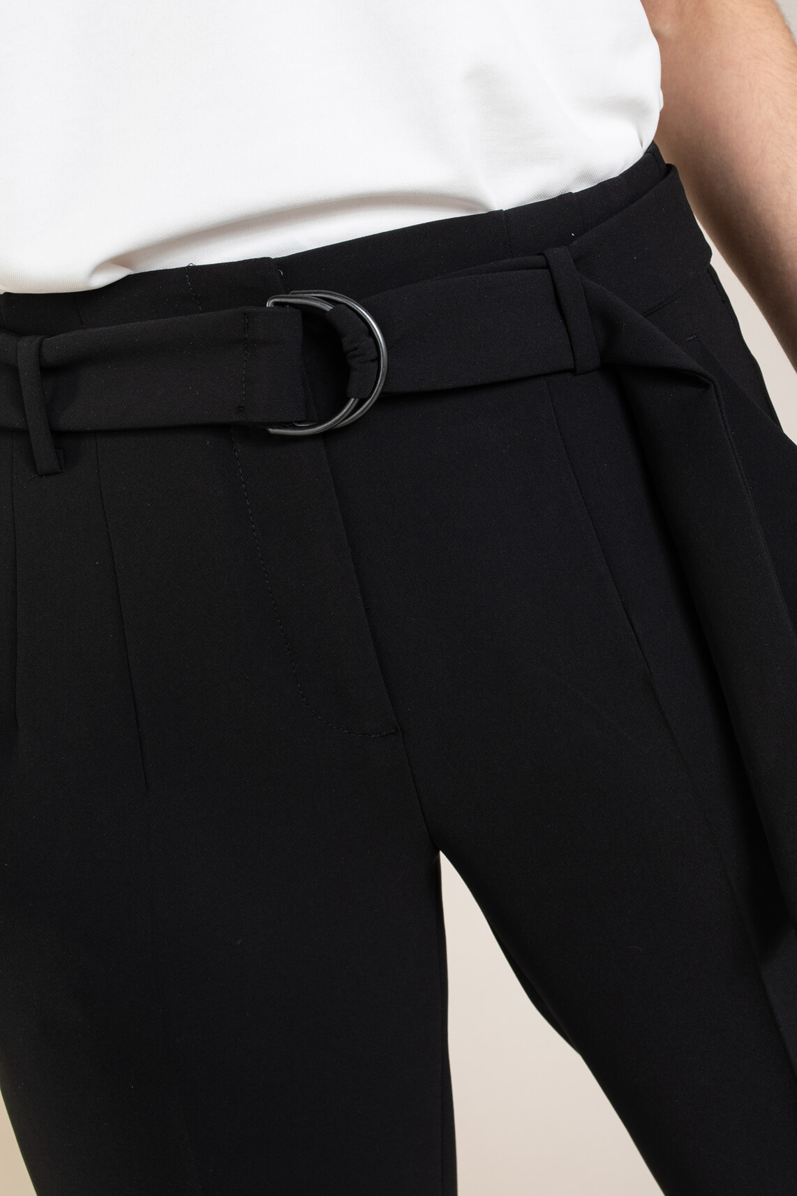 Cambio Dames Kara pantalon Zwart