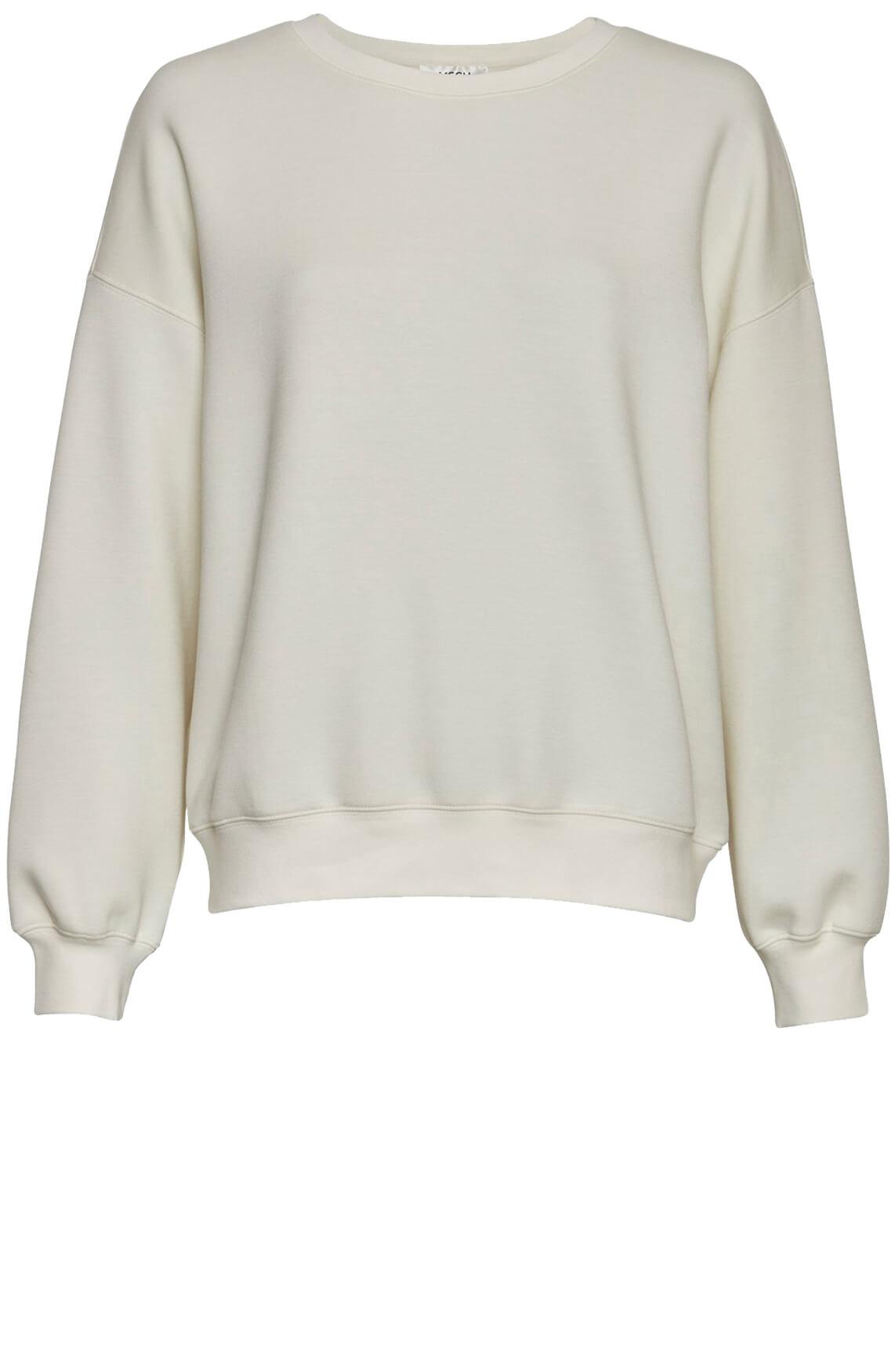 Moss Copenhagen Dames Ima sweater wit