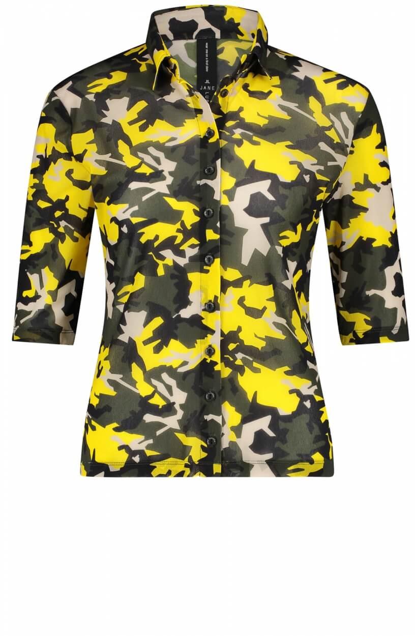 Jane Lushka Dames Noel blouse Groen