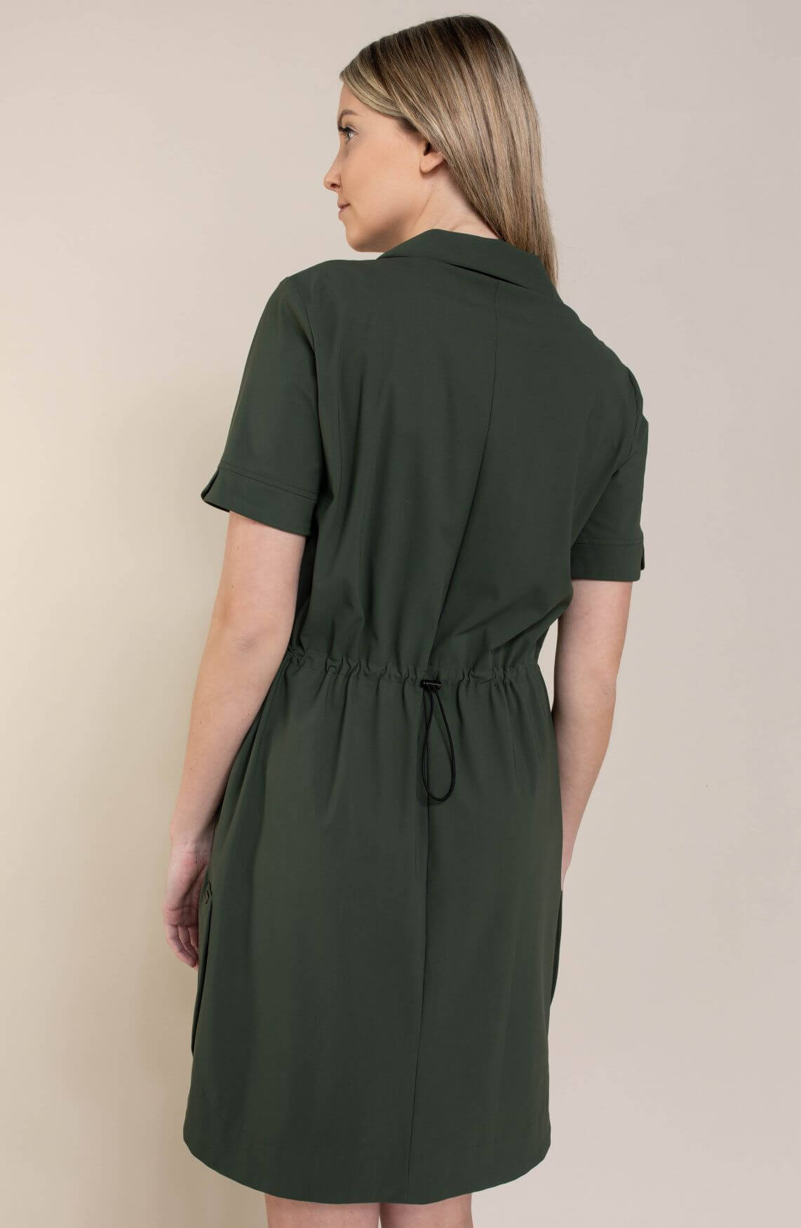 Jane Lushka Dames Lucia jurk Groen